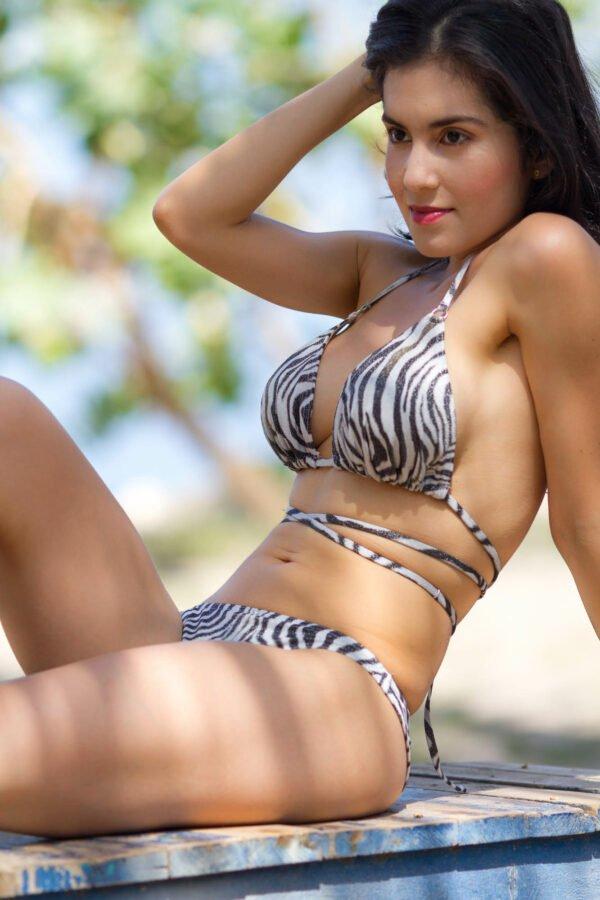 Zebraone bikini Claudia Lion Beachwear
