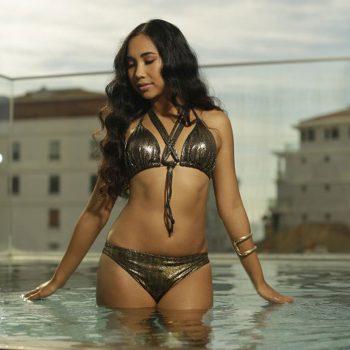 Claudia Lion bikini Beachwear