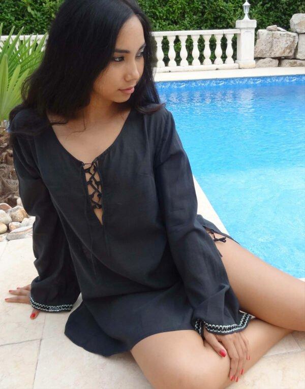 Claudia Lion Beachwear - So Sweet Kaftan